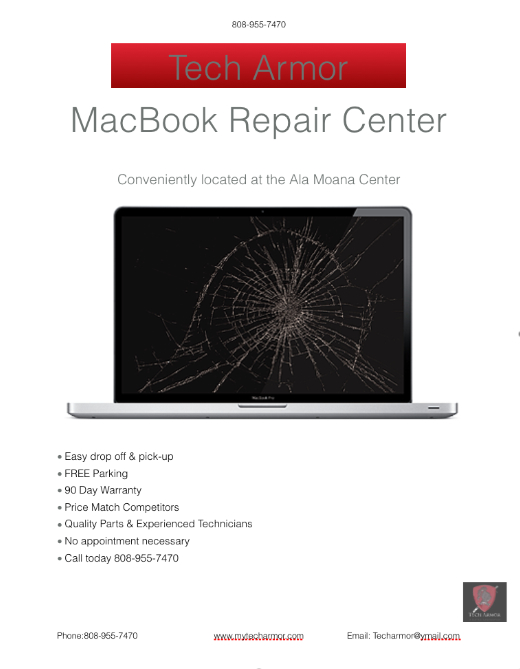 Hawaii's Choice for MacBook Repairs