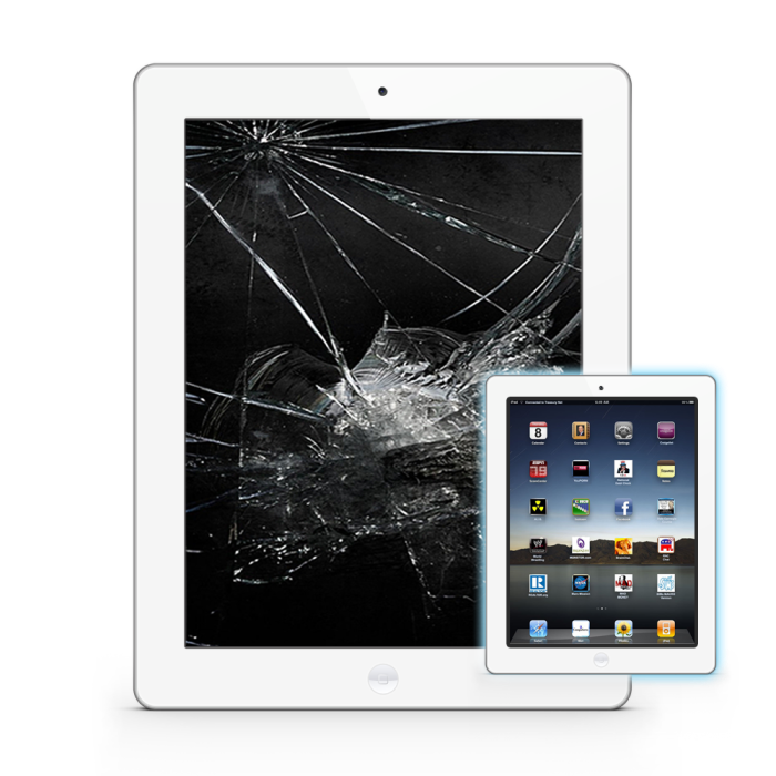iPad2LCD White