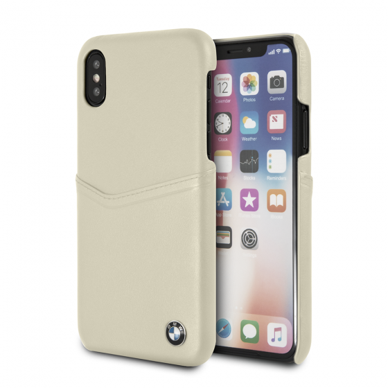 BMW iPhone X Beige_2